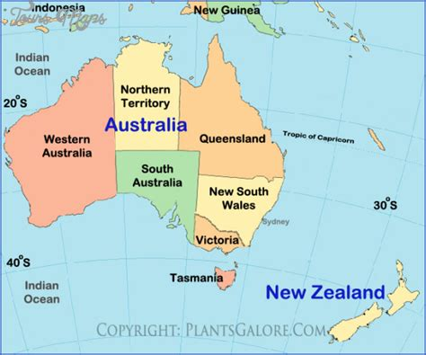australia pacific map map new zealand and australia toursmaps