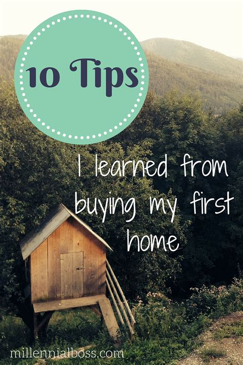 buy my first house 10 tips i learned from buying my first home
