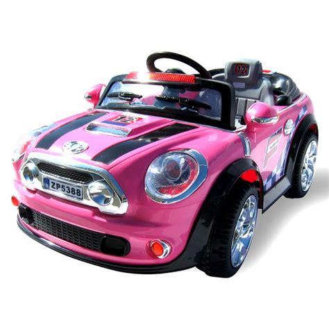 kinderauto mini style fuer maedchen     watt motor
