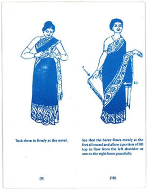 8 Simple Steps To Tie A Sari by Peso Millionaires How To Tie A Sari