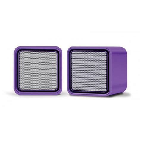 Speaker Laptop Apple iluv isp160 lified purple stereo speaker for your mac