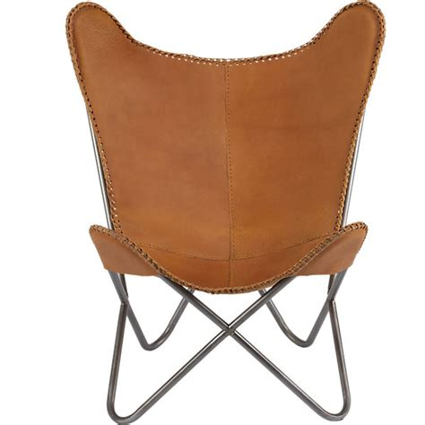 leather butterfly chair copy cat chic cb2 1938 tobacco leather butterfly chair