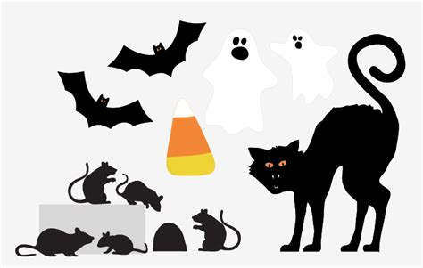 printable halloween decorations pdf printable halloween decorations cat festival collections