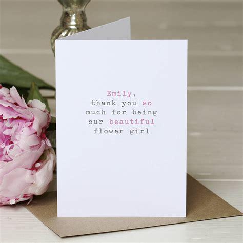 greetings cards personalised flower greetings card by slice of pie