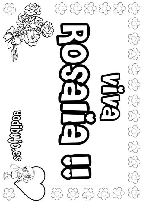 imagenes que digan paola dibujos para colorear rosalia es hellokids com