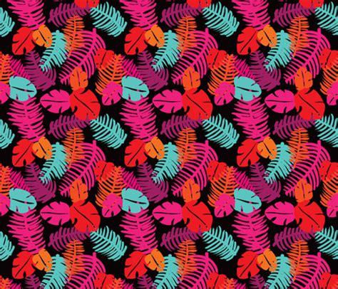 jungle pattern fabric tropical brazil summer leaf jungle monstera illustration