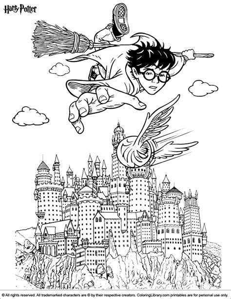 harry potter coloring pages hogwarts harry potter coloring picture
