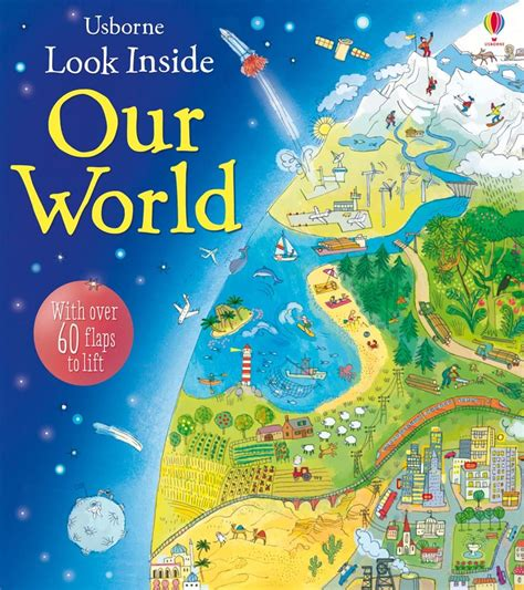 Usborne See Inside Space look inside our world at usborne children s books