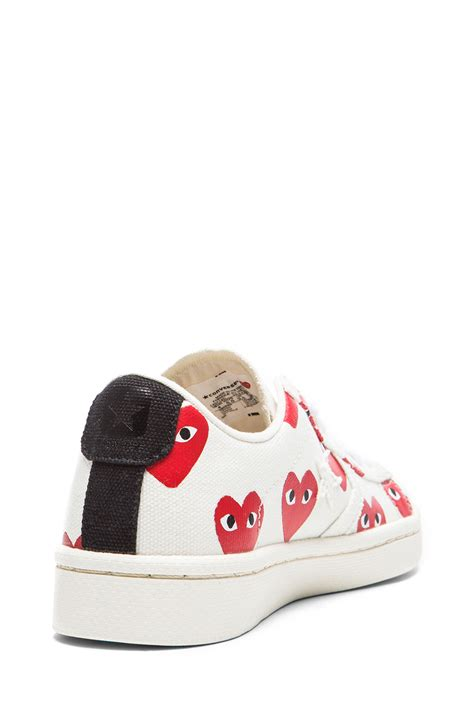 Convers Tanggal Blue commes des garcons sneakers 28 images converse x comme
