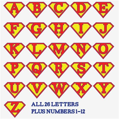 free printable iron on alphabet letters printable superman birthday banner for a super hero