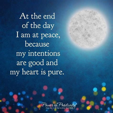At Peace by At The End Of The Day I Am At Peace