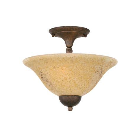semi flush mount ceiling lights titan lighting 3 light golden bronze ceiling semi flush