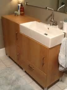 bathroom sink vanity ikea small room bath vanity sink 16 inches ikea hackers