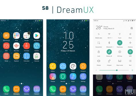 uninstall themes miui the s8 dreamux is a must have theme for miui 8 themes