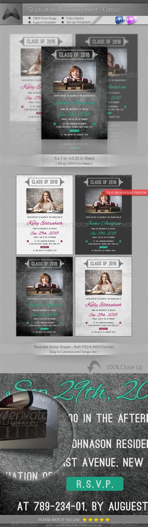 graduation card indesign template graduation invitations indesign templates free