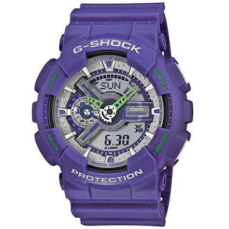G Shock Collour g shock ga 110 neon color evo