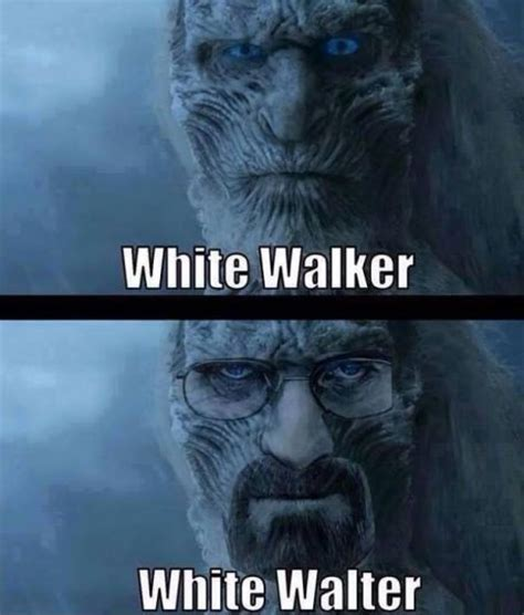 White Walkers Meme - walter white funny quotes quotesgram
