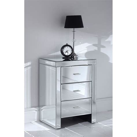mirrored side table bedroom mirrored bedroom set table side bedroom ideas and