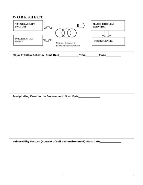 Behavior Modification Journal Pdf by 14 Best Images Of Dialectical Behavior Therapy Worksheets