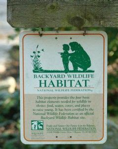 national wildlife federation backyard habitat 31 best images about landscaping for wildlife on pinterest