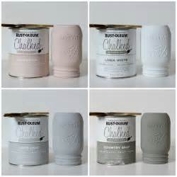 rustoleum chalk paint colors how to paint and distress jars