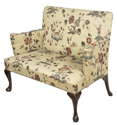 queen anne settee swc walnut queen anne settee england c 1760 ebay