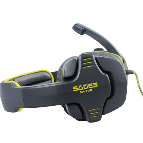 Headset Gaming Sades Sa 708 sades headset sa 708 7 1 surround gaming headphone usb headband pc laptop w mic ebay