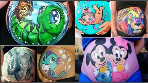 imagenes para pintar barrigas de embarazadas top 100 tiernos dibujos para pintar en tu pancita de