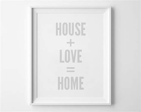 home decor love sign wall art print love sign home decor typography print home