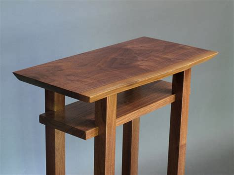 wooden accent tables unavailable listing on etsy