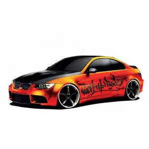 stickers autocollant d 233 coration bmw orange tuning