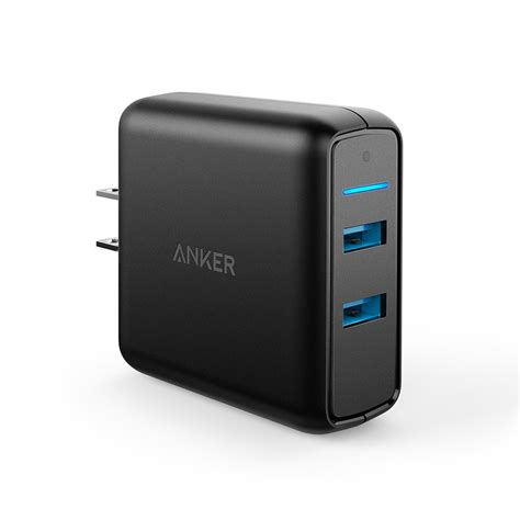 Anker Powerport Speed 5 Wall Charger Powerline Micro Usb 3ft Black anker powerport speed 2 ports