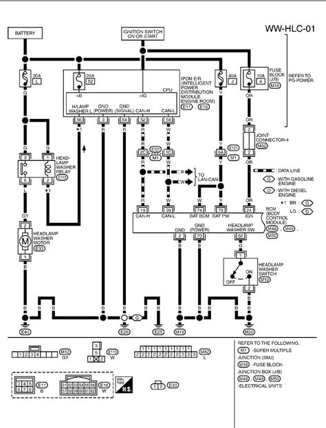 nissan micra headlight wiring diagram wiring diagram