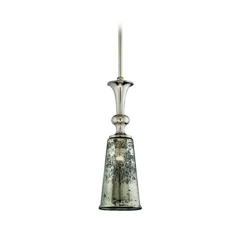 Glass Light Pendants Mini Pendant Light With Mercury Glass 103 43 Destination Lighting