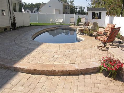 Patio Concrete Pavers Concrete Designs For Patios Floors Pictures Sted Concrete Home Design Ideas