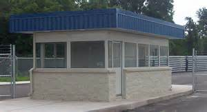 guardhouse with built in restroom portable steel building blog by par kut
