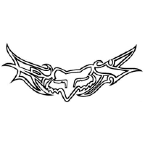 tattoo logo fox logo of fox racing this would be a cute lower back tattoo