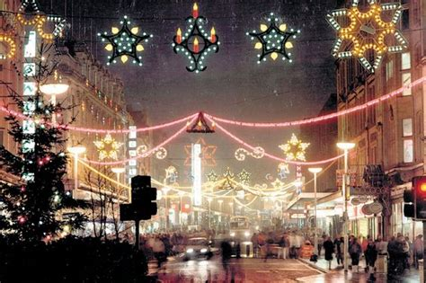 newcastle northumberland street christmas lights on newcastle s northumberland but what was the year chronicle live