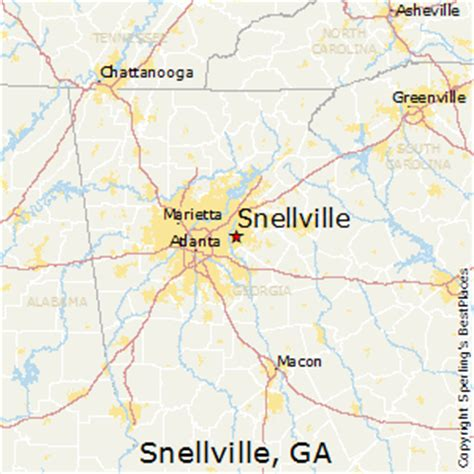 best places to live in snellville georgia