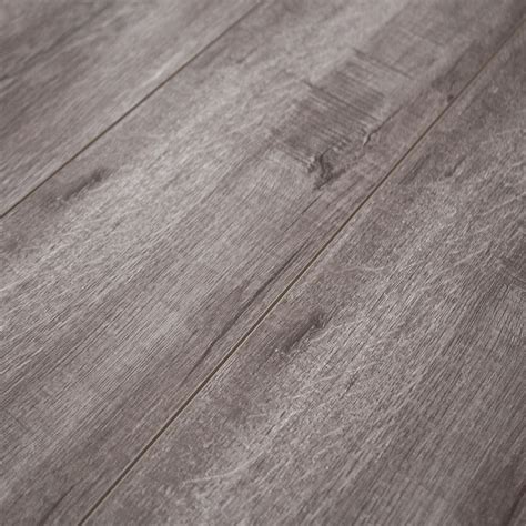 Laminate Flooring With Attached Underlayment 12mm Laminate Flooring W Padding Attached Timeless Designs Grey Sle Ebay