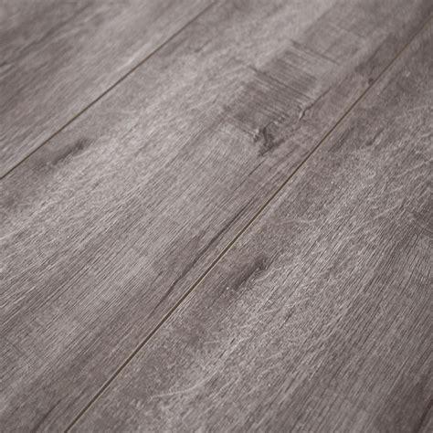 Laminate Flooring Grey 12mm Laminate Flooring W Padding Attached Timeless Designs Grey Sle Ebay