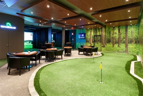 indoor golf centers high definition golf simulators