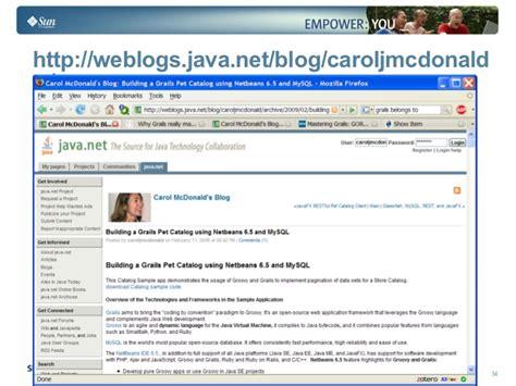 tutorial grails netbeans agile web development groovy grails with netbeans