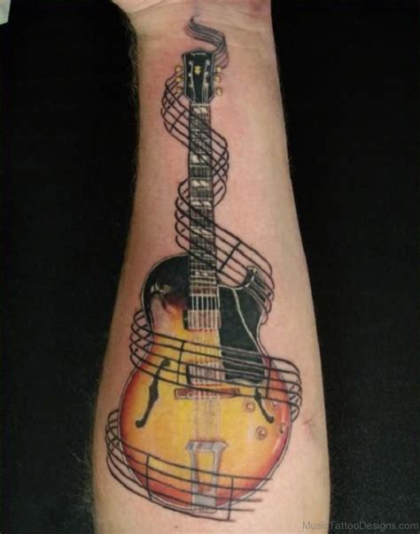 acoustic guitar tattoo 100 acoustic guitar tattoos