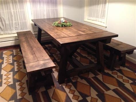 farmhouse tables with benches benches for the farmhouse table