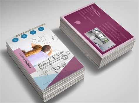 living business card templates free apartment living business card template
