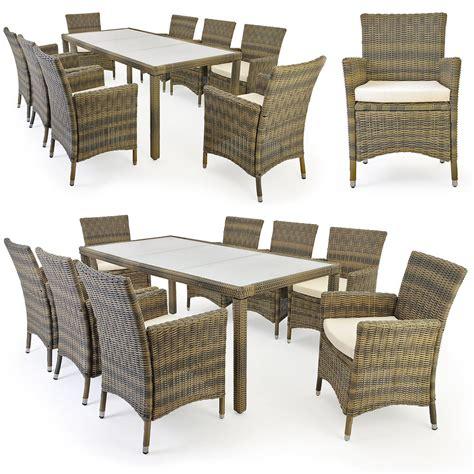 tavolo sedie rattan tavolo 8 sedie rattan argento marmorizzato oro