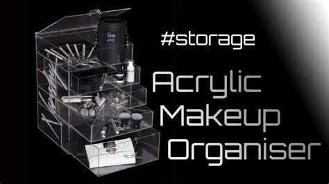 Acrylik Make Up V acrylic makeup organiser prestige cosmetic and jewellery