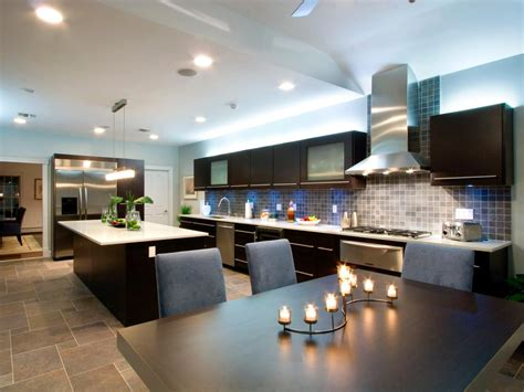 nice kitchen design ideas great one wall kitchen designs with an island railing
