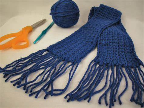 how to crochet a scarf using single crochet 5 steps